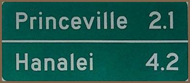 Mileage Sign 2