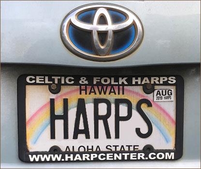 Hawaiian License Plate