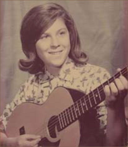 Sharon and guitar