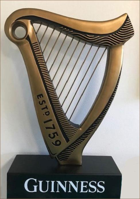 Guinness statue
