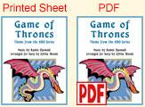 sheet vs PDF