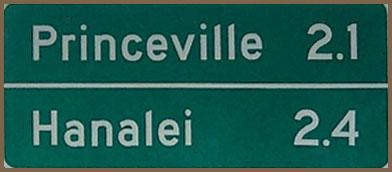 Mileage Sign 1