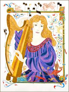 drawing of harper