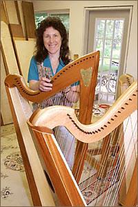 Sharon and harps