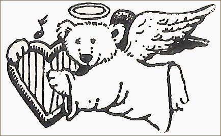 Angel Bear Stamp