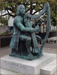 Carolan Statue