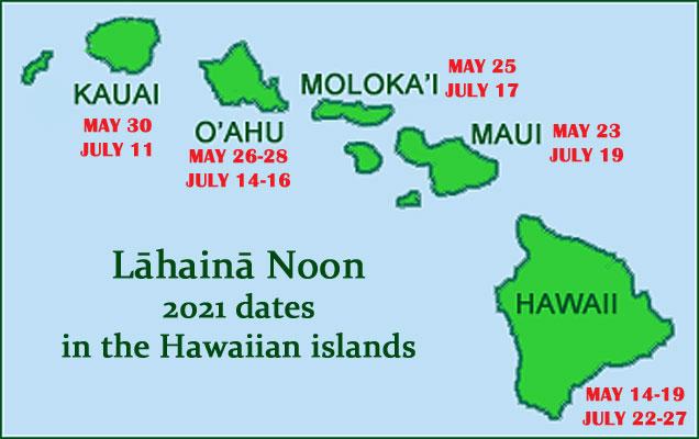 Lahaina Noon map