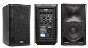 qsc powered speakers