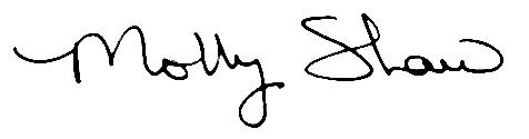 Molly Shaw signature