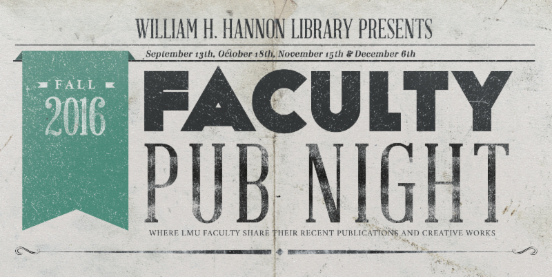 faculty pub night logo