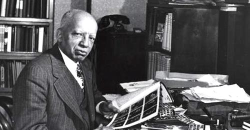 Dr. Carter G. Woodson - National Museum of American History - Smithsonian Institution
