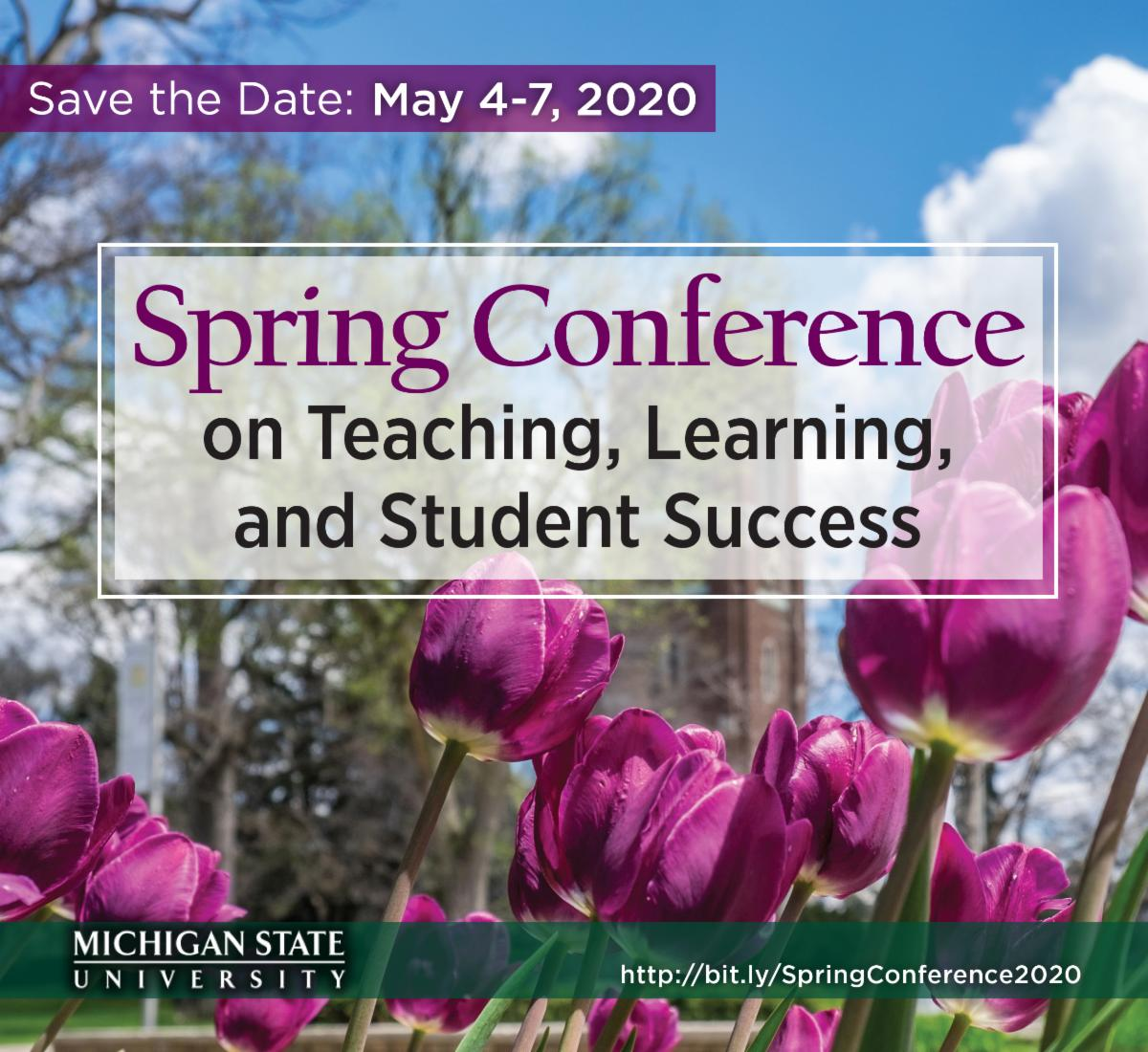 Spring Conference on Teaching_ Learning and Student Success