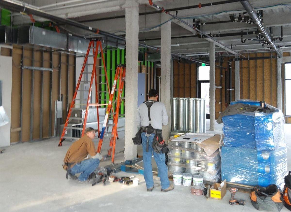 Notre Dame FCU March Construction Progress