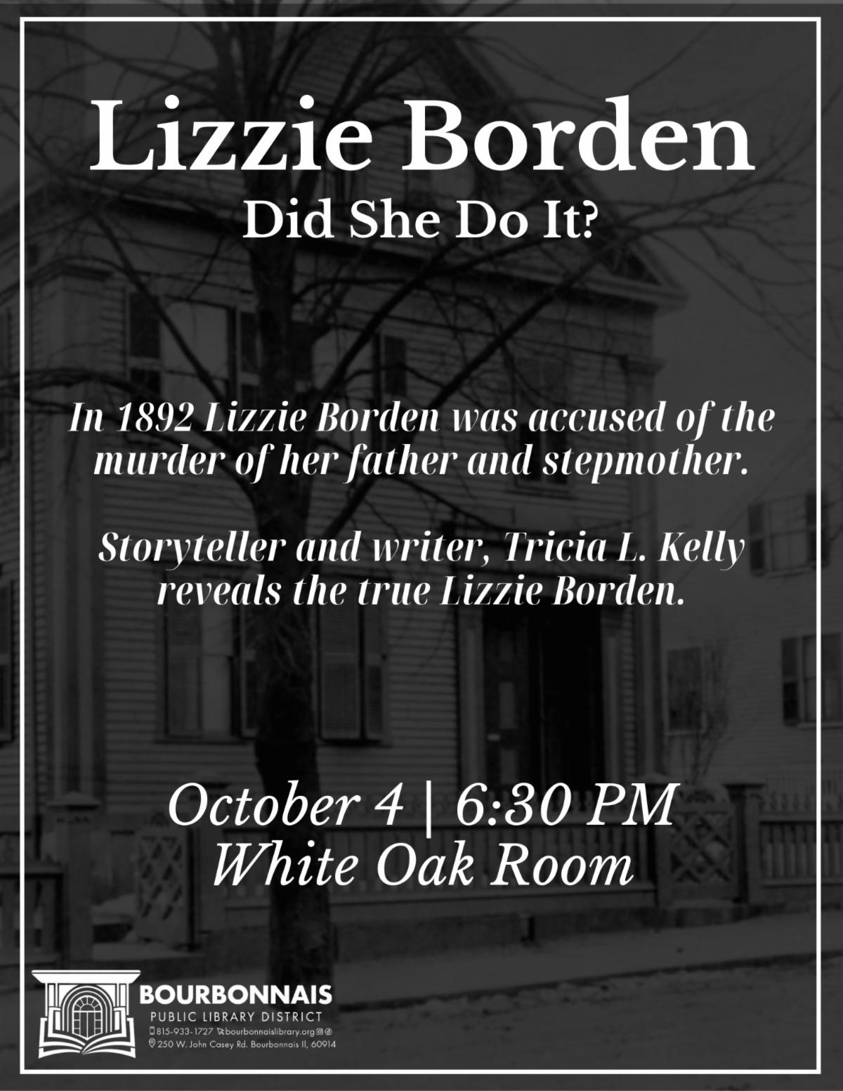 Lizzie Borden: Did She Do It?