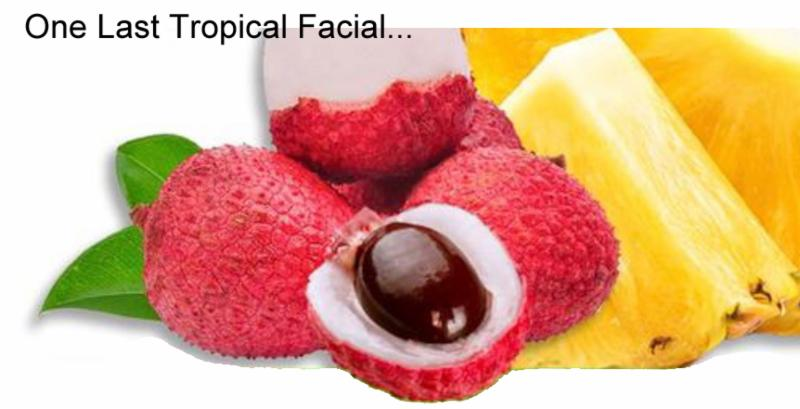 one last tropical facial