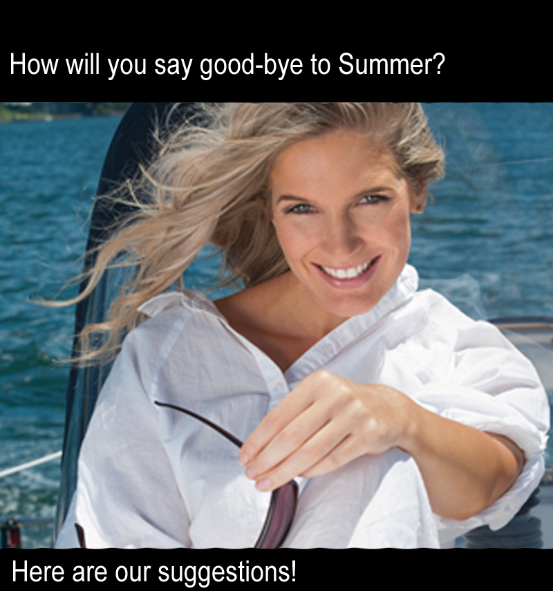 How will you say good-bye to Summer