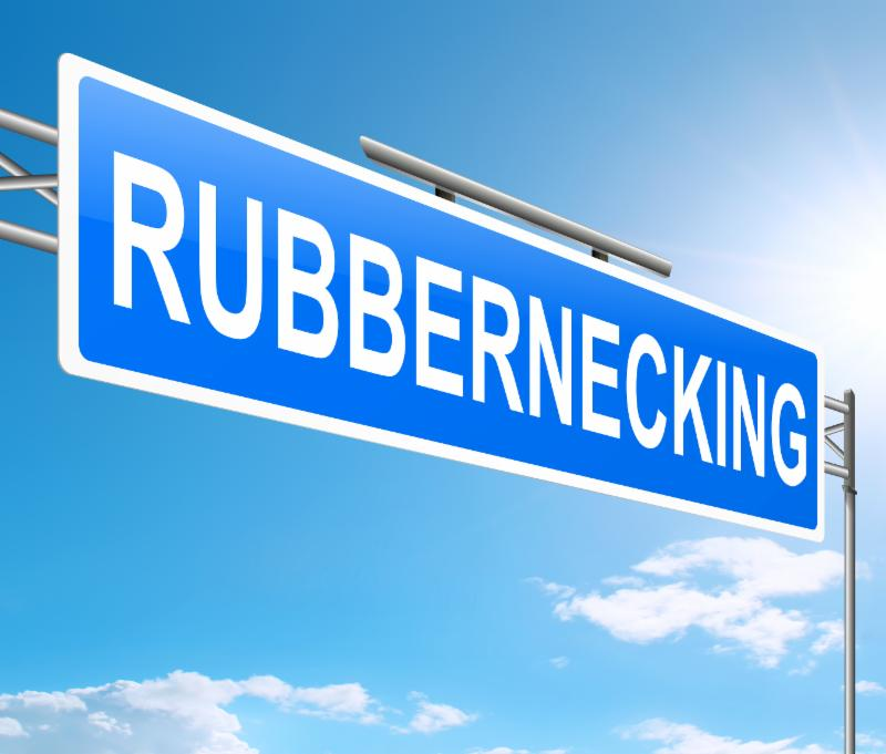 Rubber Necking - a special addition of things that make us look twice!