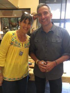 Rachel with Coe board member Kenneth Johnsononeethen