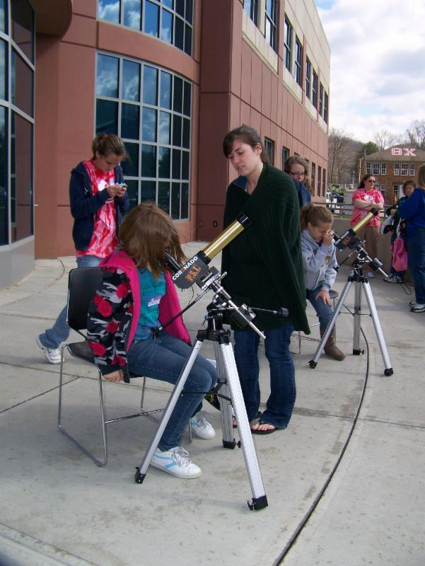 Space Science outside