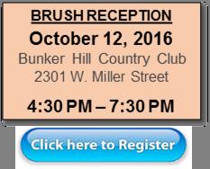 Brush reception info