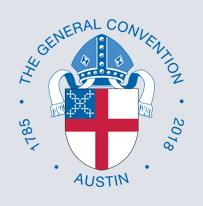 Episcopal General Convention 2018 Logo