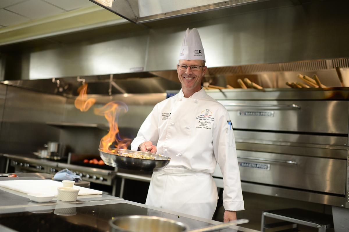 Chef Kevin Clark - Professor of Culinary Arts at Colorado Mountain College Breckenridge