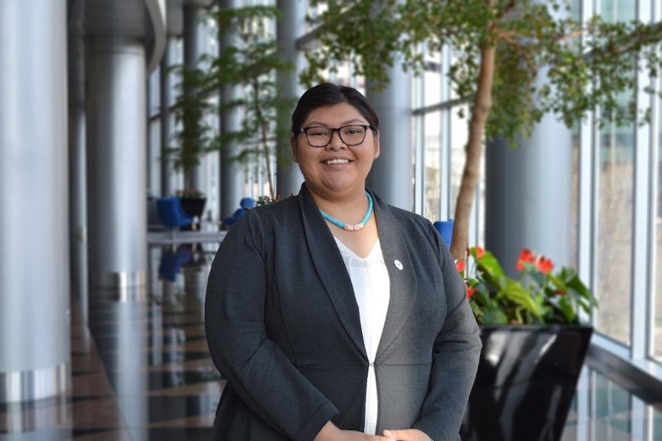 Angel Benally, a spring 2020 alumna of the NAPLP program.
