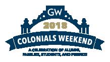 GW Colonials Weekend logo