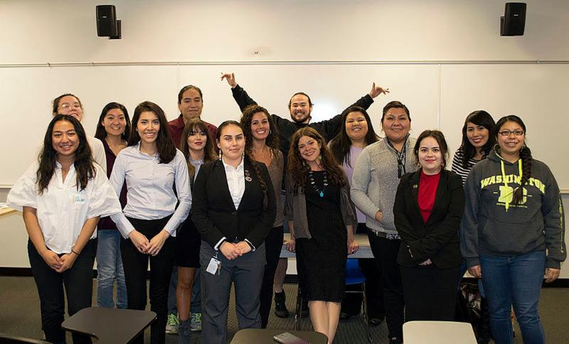 NAPLP Students with Native lawyer
