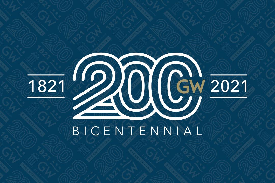 GW Bicentennial 1821-2021