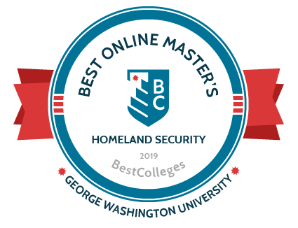 Best Online Master's 2019 in Homeland Security as ranked by BestColleges.com