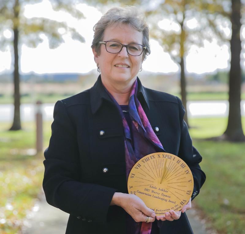 Adele Ashkar, winner of 2017 Marcy Damon Conservation Landscaping Award