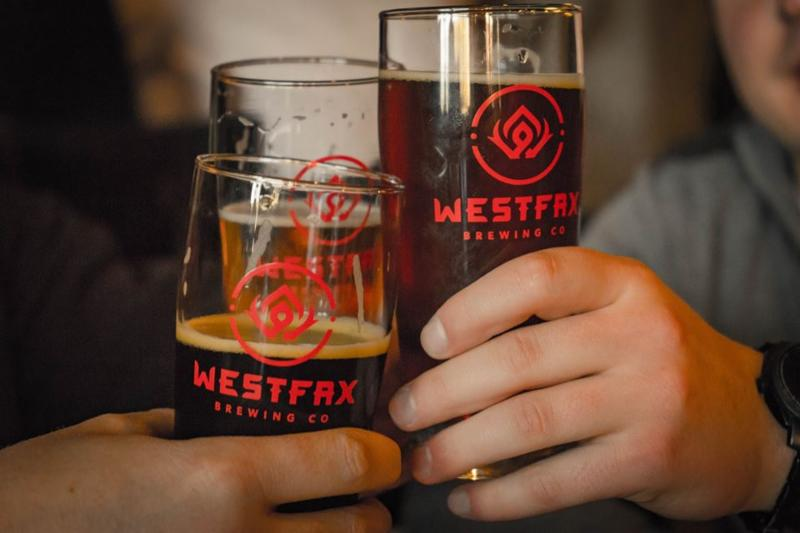 WestFax, beer, brewing, summit, friends, cheers