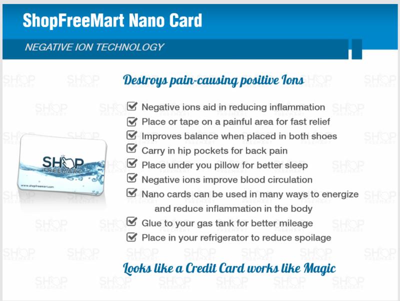 ShopFreemart Nano Cards