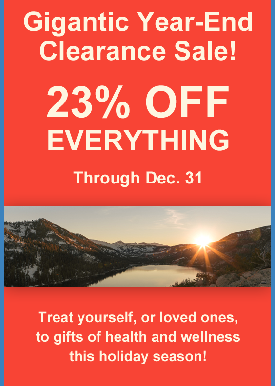 Year-End Clearance Sale_