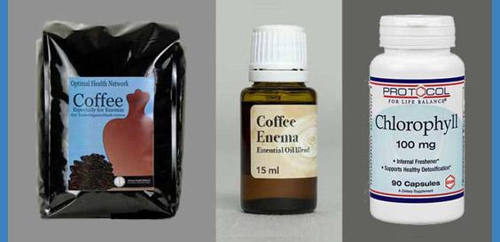 coffee enema supplies