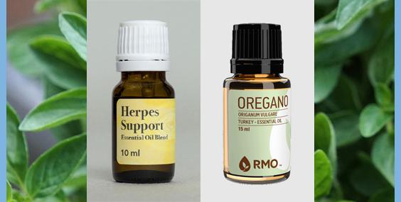Oregano Essential Oil for Herpes Support