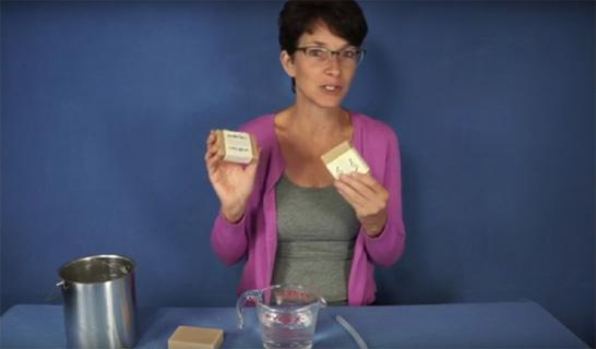 how to use enema soap