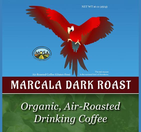 organic_ air-roasted coffee