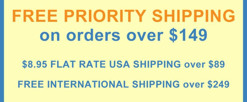 Free Priority Shipping