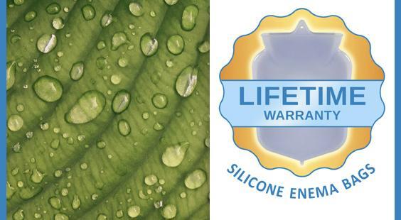 lifetime warranty on silicone enema bags