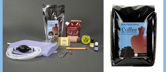 Coffee Enema Kits and Organic Coffee for Enemas