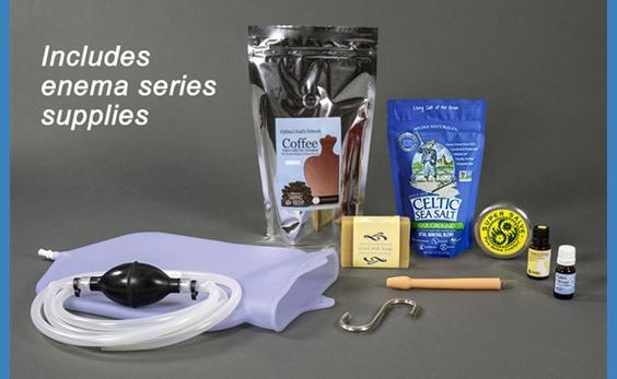 silicone coffee enema kit