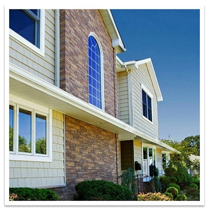 Home exterior with Nailon Siding