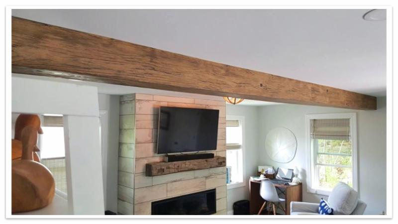 Driftwood Beam in Early American