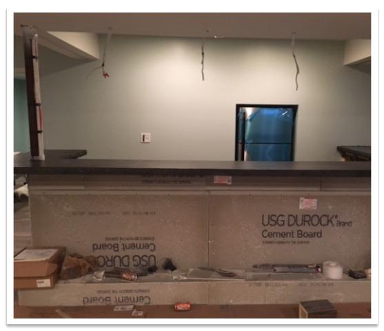 Before basement bar