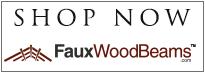 Shop Now at FauxWoodBeams.com