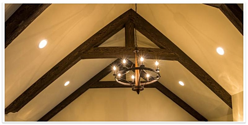 Trusses made from Heavy Sandblasted beams