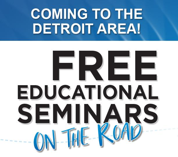 Free Seminars coming to the Detroit Area this August