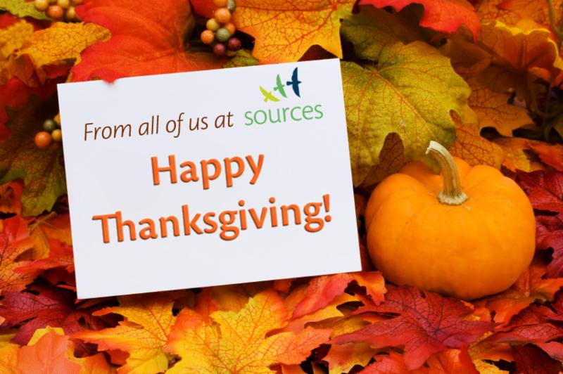 Happy Thanksgiving from Sources